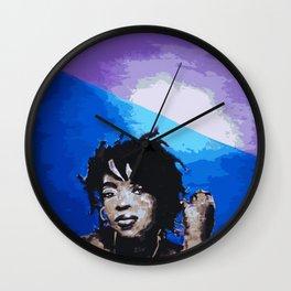 Ms Hill Wall Clock