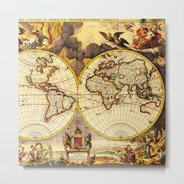 Old Maps 442 Metal Print