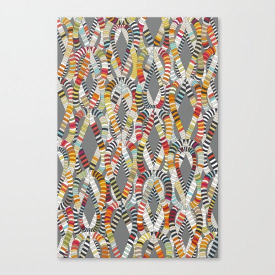 knot drop Canvas Print