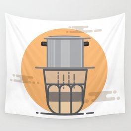 Vietnam Coffee Wall Tapestry