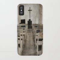 bible verses iPhone & iPod Cases featuring Bible Print by Gia Jury
