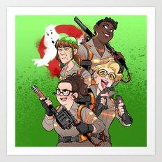 2016 Ghostbusters Art Print