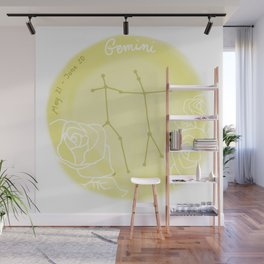 Gemini Wall Mural
