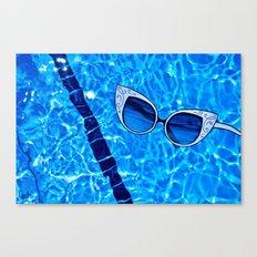 Paper Sunglasses Canvas Print