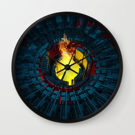 Forge Wall Clock