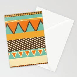 Colorful Style Pattern Stationery Cards
