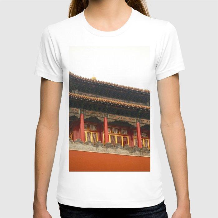 Forbidden City Building T-shirt