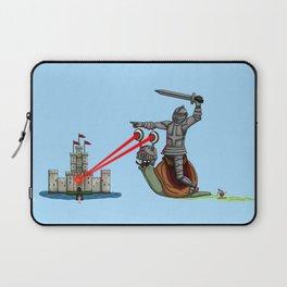 The Knight and the Snail - Random edition Laptop Sleeve