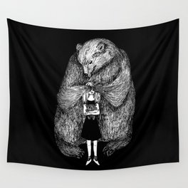 Two bears Wall Tapestry