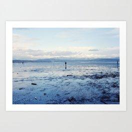 Untitled (Bellingham Bay Winter) Art Print