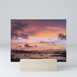 Colorful Caribbean Sunset Mini Art Print