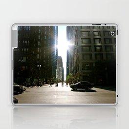 Sun Between Buildings Laptop & iPad Skin