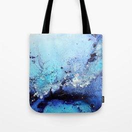Bermuda Paradise Mixed Media Painting Tote Bag