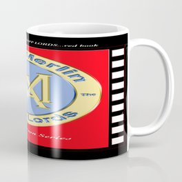 KEVIN CURTIS BARR COMICS' LOGO...red book Coffee Mug