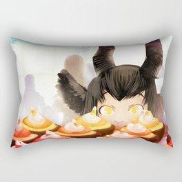 Candy Corn Cupcakes Rectangular Pillow