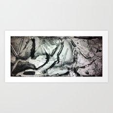 Aqueous 1/3 Art Print