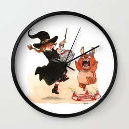 Sorcery! Wall Clock
