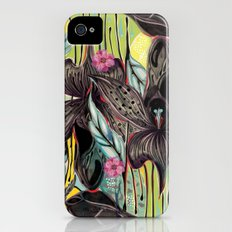 Flowers 2 Slim Case iPhone (4, 4s)