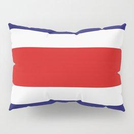 costa rica flag Pillow Sham