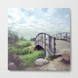 Rainbow Bridge Metal Print