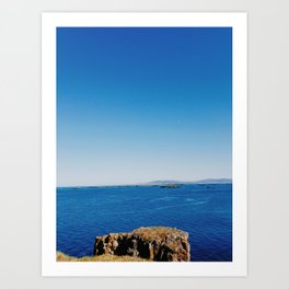 West Fjords at the Edge of the World Art Print