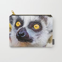 Lemur #lemur #animals Carry-All Pouch