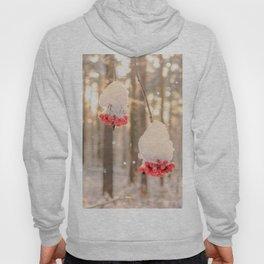 Rowan berries in the snow Hoody