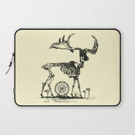 Gas Mask Deer Laptop Sleeve