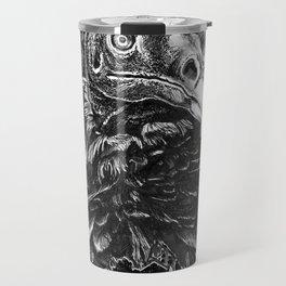 Vulture and Pine Travel Mug