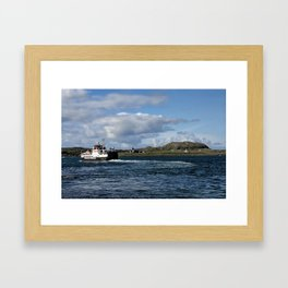 Ferry to Iona Framed Art Print