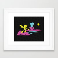 teen titans Framed Art Prints featuring Titans Go! by TerraBlack