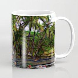 Hawaiian Beach Abstract Coffee Mug