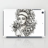 fairy iPad Cases featuring Fairy by Anca Chelaru