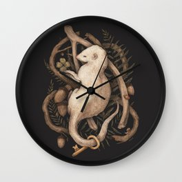 Blessings Surround You Wall Clock