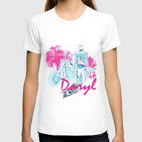 daryl T-shirts featuring Daryl Drive by Tracey Gurney