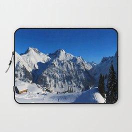 Winter Panorama in Austria Laptop Sleeve