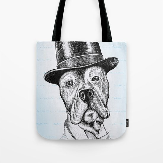 I'm too SASSY for my hat! Vintage Pup. Tote Bag