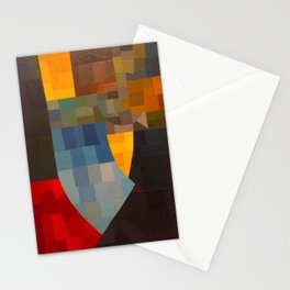 Otto Freundlich Komposition 1930 Mid Century Modern Abstract Colorful Geometric Painting Pattern Art Stationery Cards