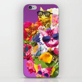 Cat Bouquet iPhone Skin