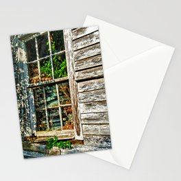 Overgrown Behind the Window Stationery Cards