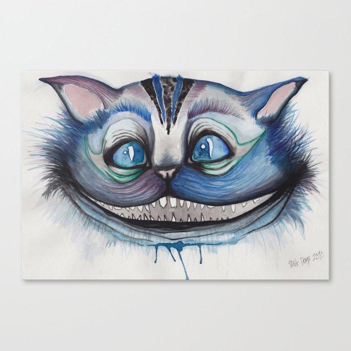 Cheshire Cat Grin - Alice in Wonderland Canvas Print