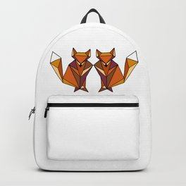 Geometric Foxes Backpack