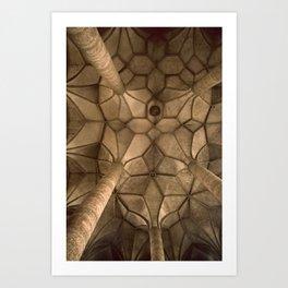 Looking Up - Mondsee Abbey, Salzburg Art Print