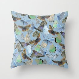 Butterfly | Lycaenidae Throw Pillow