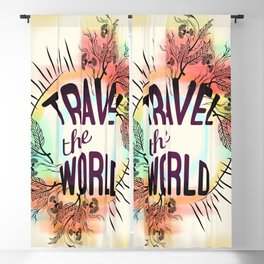 Travel the World Blackout Curtain