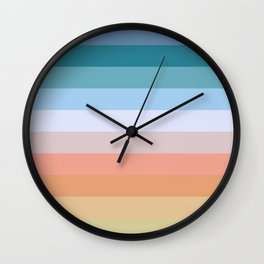Multicolor Stripes - Tiyanak Wall Clock
