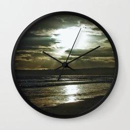 Sunrays. Wall Clock