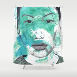 More than Existing  Shower Curtain