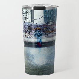 Light Bridge - Light Painting Travel Mug