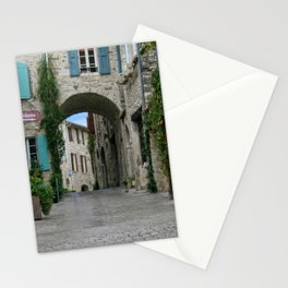 France Photography - Street From A Town In Vézénobres Stationery Cards